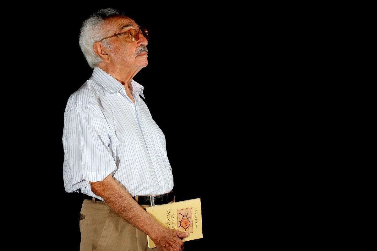 Poeta Manoel de Barros||