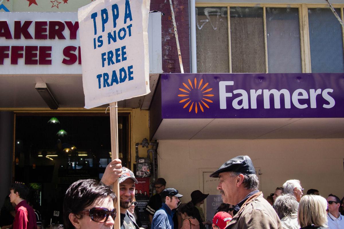 Protesto contra oTPPA