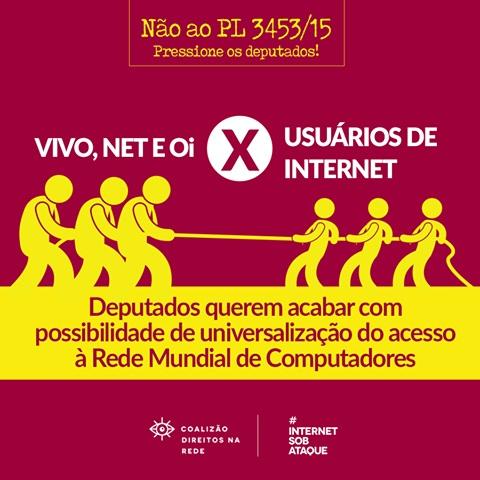 Fonte: Coalizão Direitos na Rede