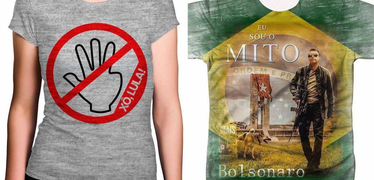 Lojas Americanas vendem camisetas pró-Bolsonaro e anti-Lula - CartaCapital 3669de3d3d150