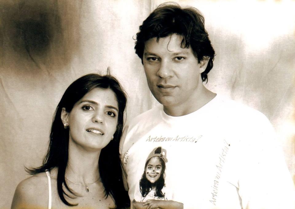 Ana Estela e Haddad jovens