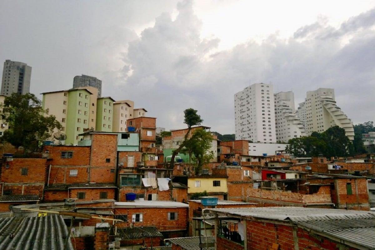 Paraisópolis, uma das maiores favela de SP, pertence ao distrito da Vila Andrade, no Campo Limpo