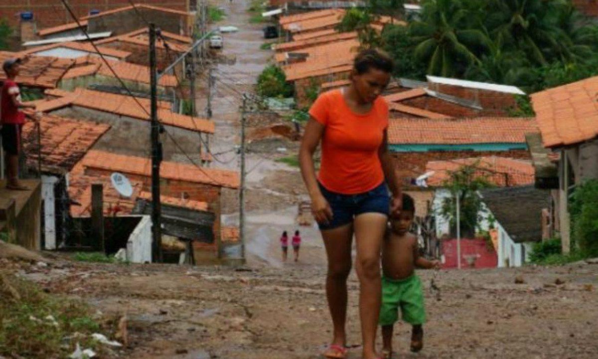 Desigualdade e concentração de renda, típicas tradições do Brasil (Foto: ABr)