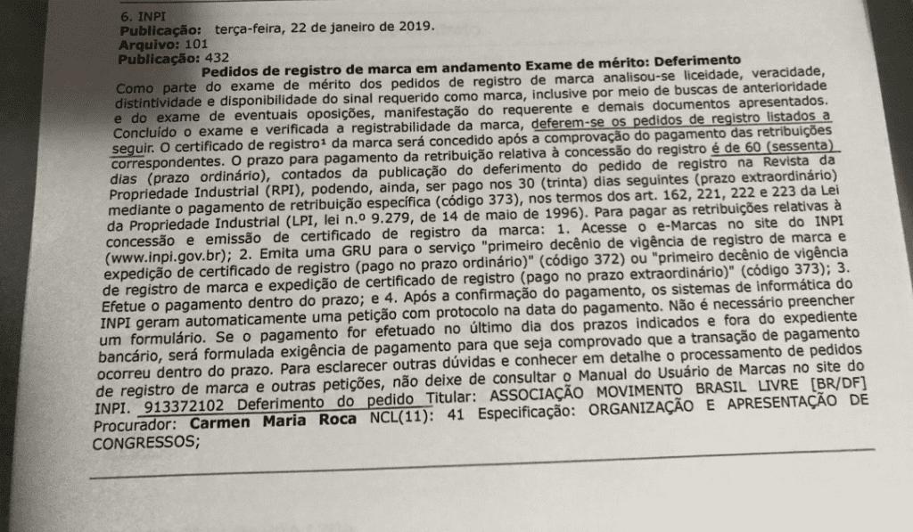 INPI dá ganho de causa a Alexandre Frota sobre o registro da marca MBL