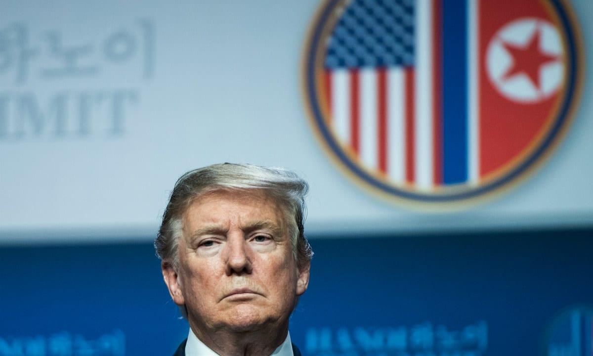 Trump fracassa na Coreia do Norte (Foto: AFP)