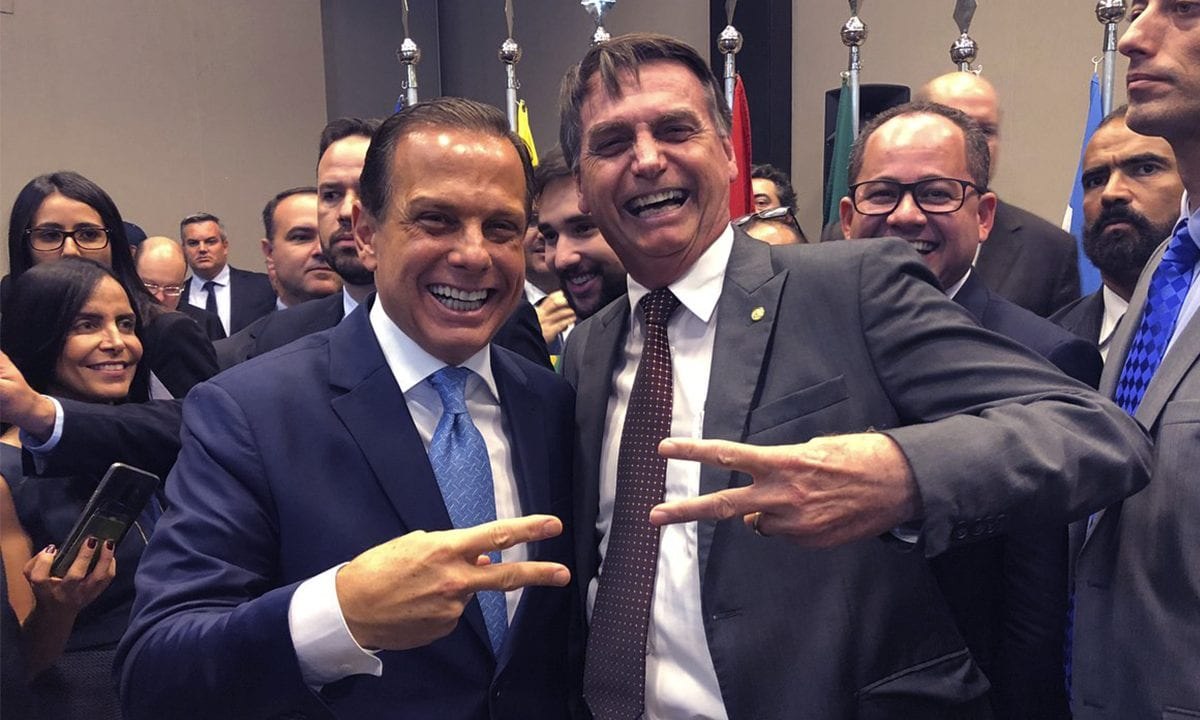 Doria tenta se afastar de Bolsonaro e faz duras críticas ao presidente -  CartaCapital