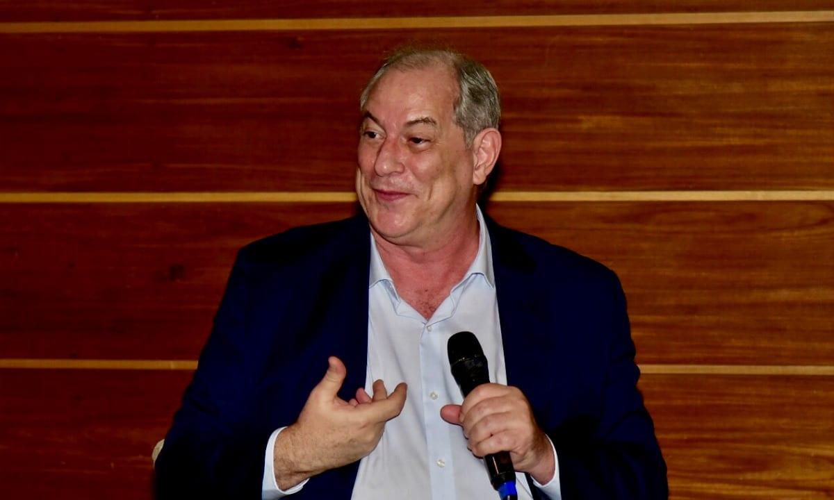 Ciro Gomes no evento do IREE (Foto: Divulgação)