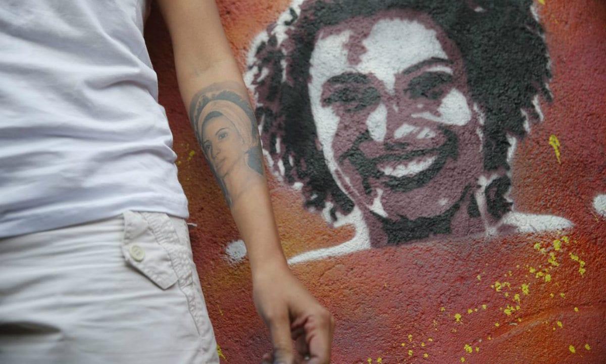 Mural em homenagem a Marielle Franco (Foto: ABr)