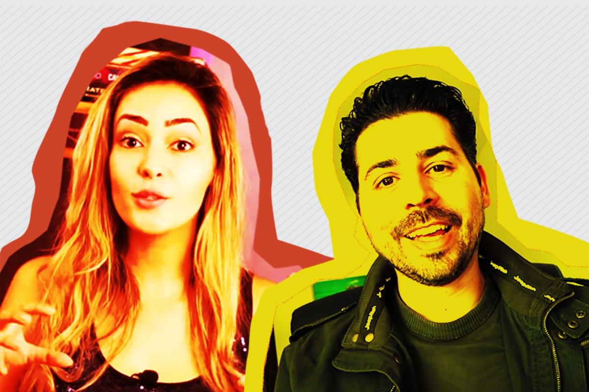 Henry Bugalho e Sabrina Fernandes: duas vozes contra a direita louca
