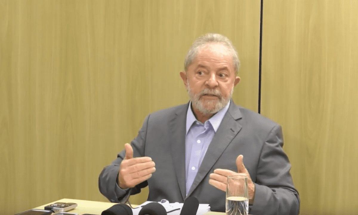 O ex-presidente Luiz Inácio Lula da Silva (PT). (Foto: Reprodução)