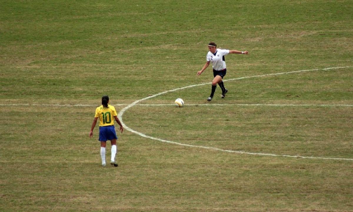 Futebol Feminino  Jogadora de futebol