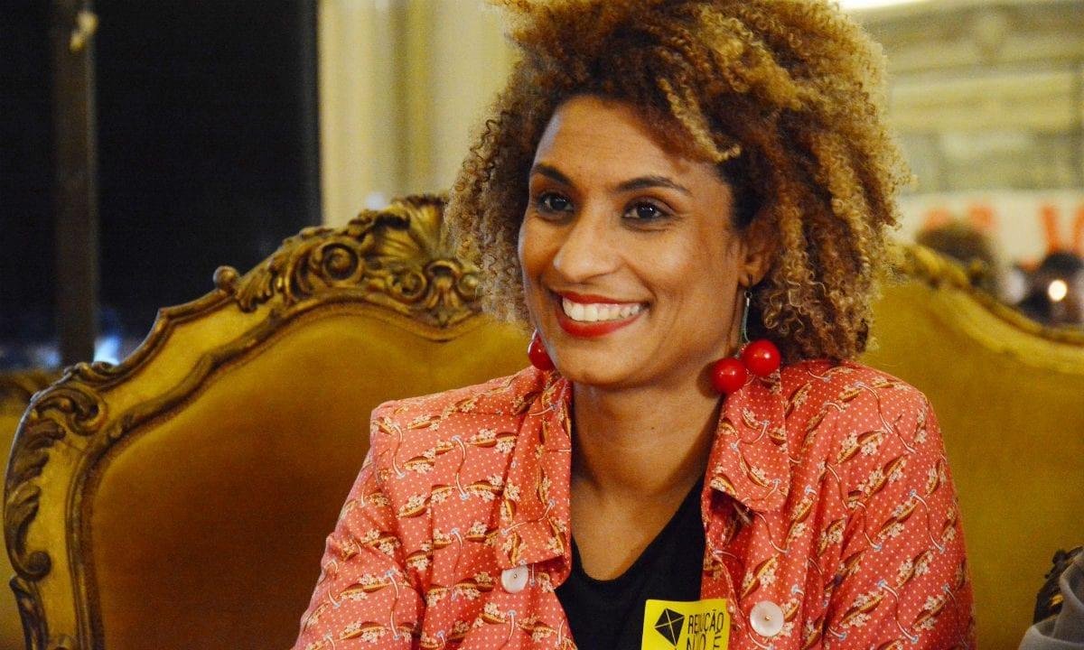 Marielle Franco, vereadora assassinada no Rio de Janeiro. Foto: Mário Vasconcellos/CMRJ
