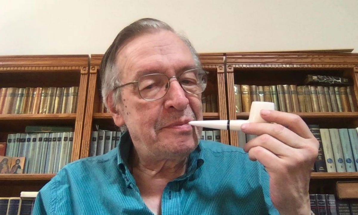 O escritor Olavo de Carvalho. Foto: Reprodução