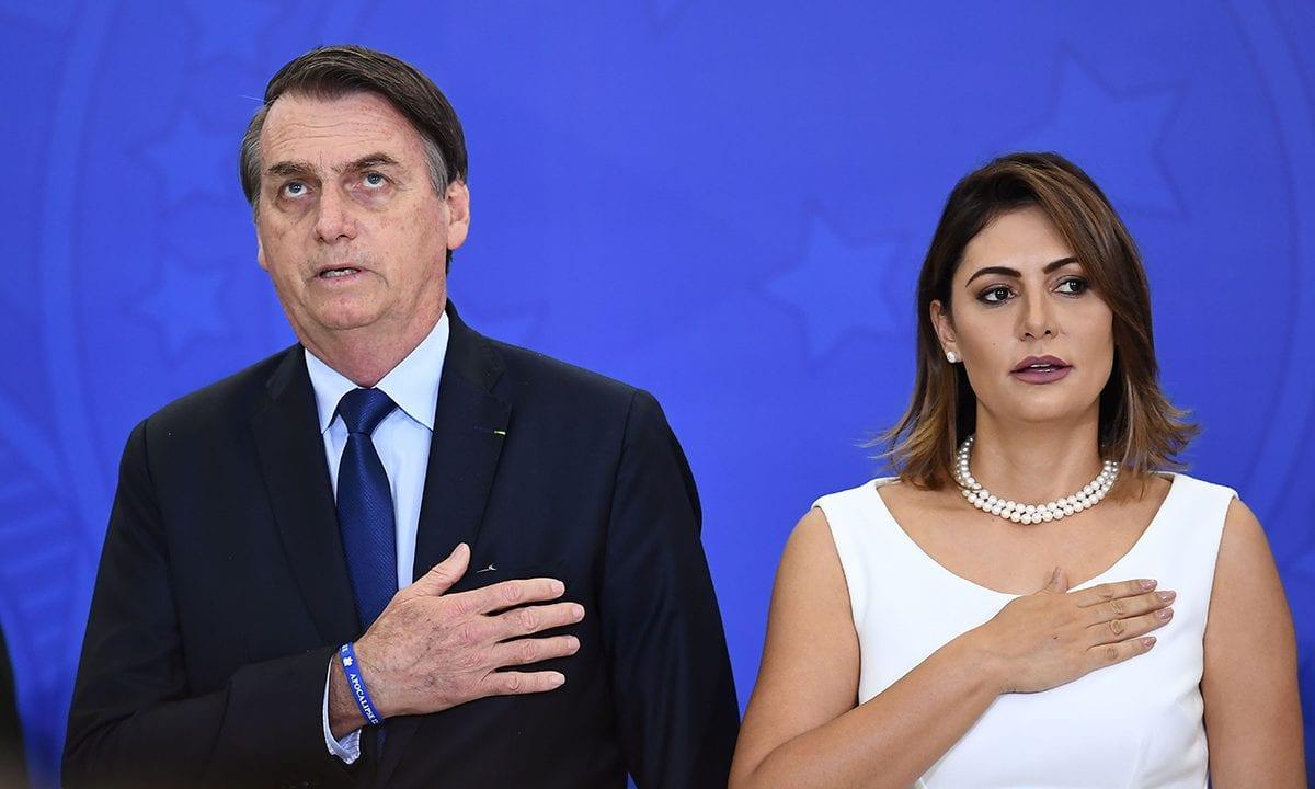 Michelle Bolsonaro está com covid-19 - CartaCapital