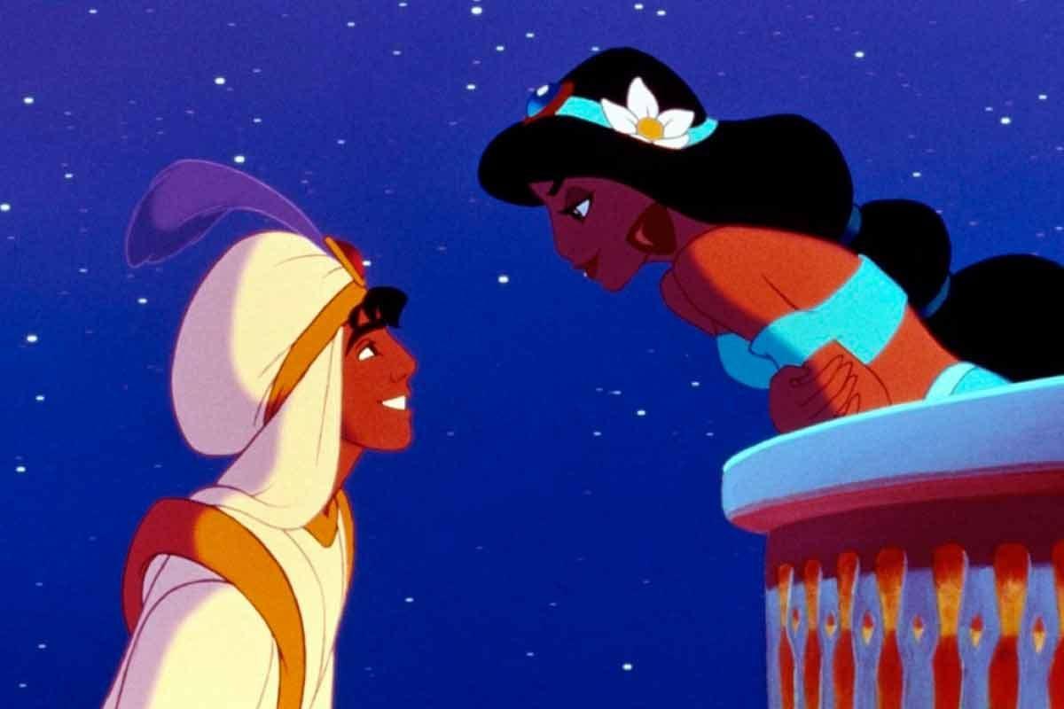 Aladdin e Jasmine Princesa Tiana