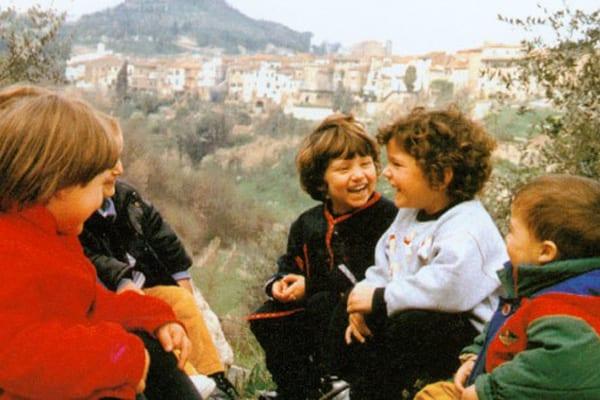 San Miniato|Crianças em San Miniato
