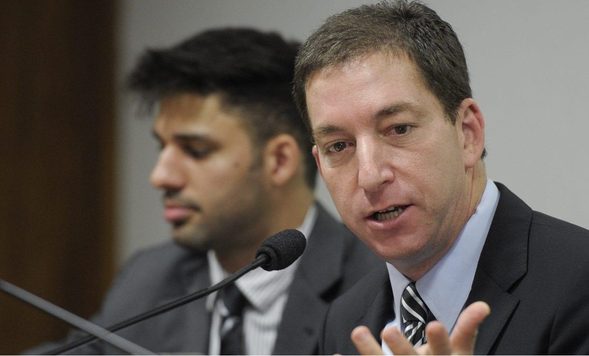 Glenn Edward Greenwald, advogado e jornalista norte-americano. Um dos fundadores do The Intercept