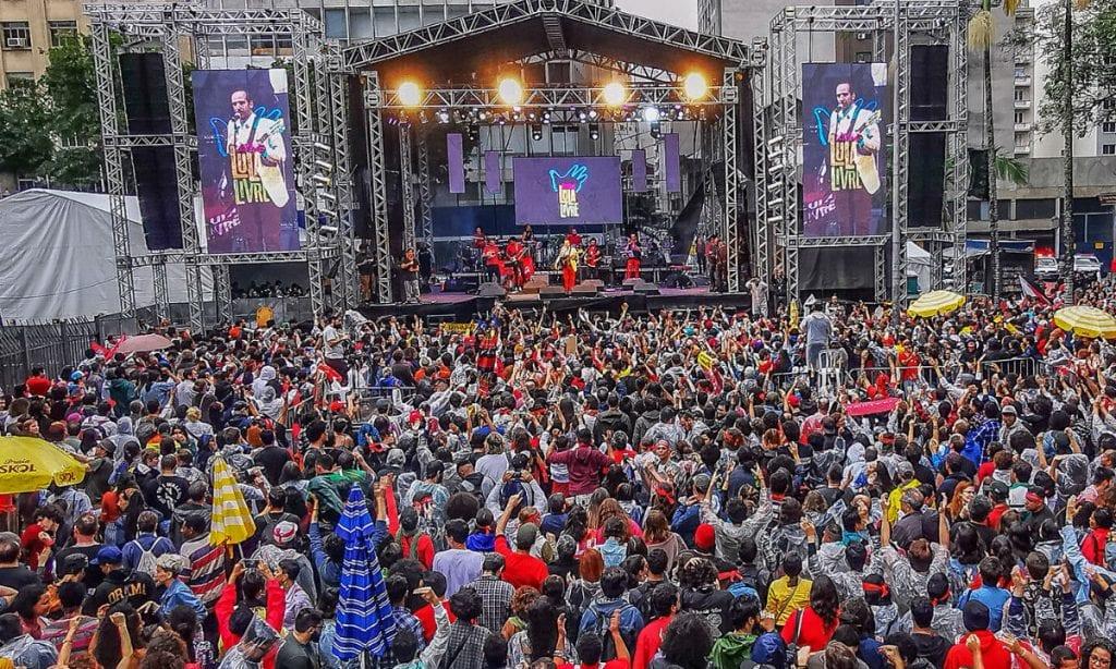 Festival Lula Livre reúne muitos militantes em algumas capitais brasileiras - Foto: Mídia Ninja/Divulgação