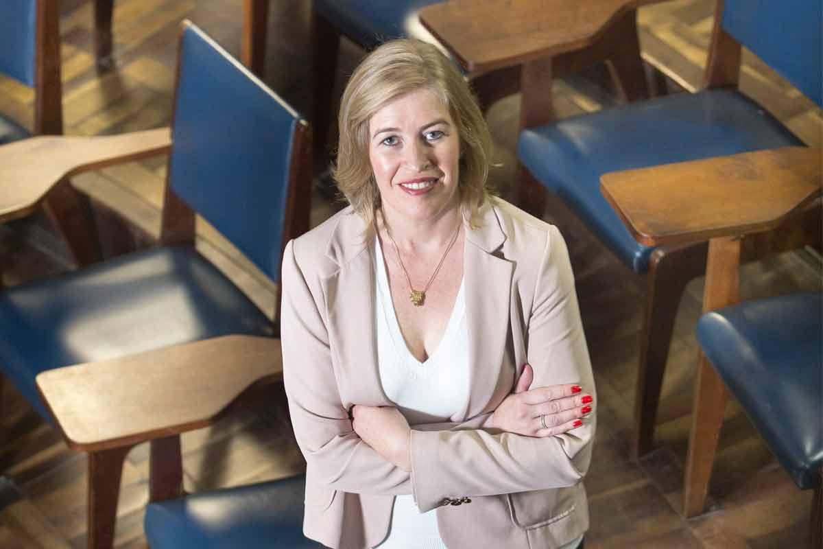 A doutora em Educação da UFPR
