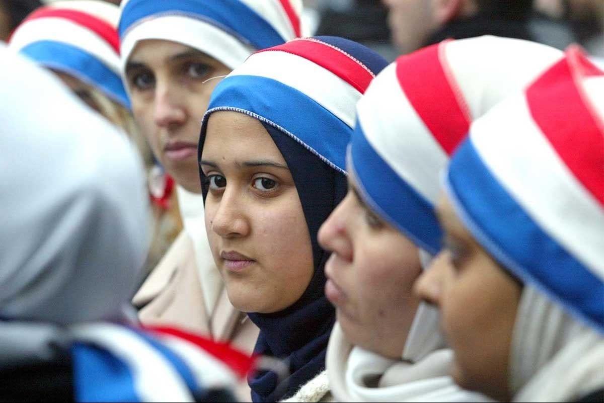 Garotas islâmicas da França