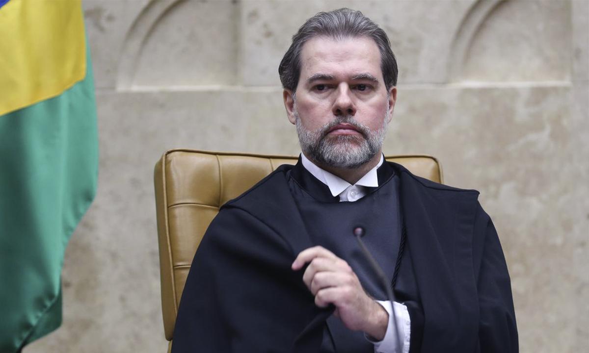 Ministro Dias Toffoli, presidente do Supremo Tribunal Federal