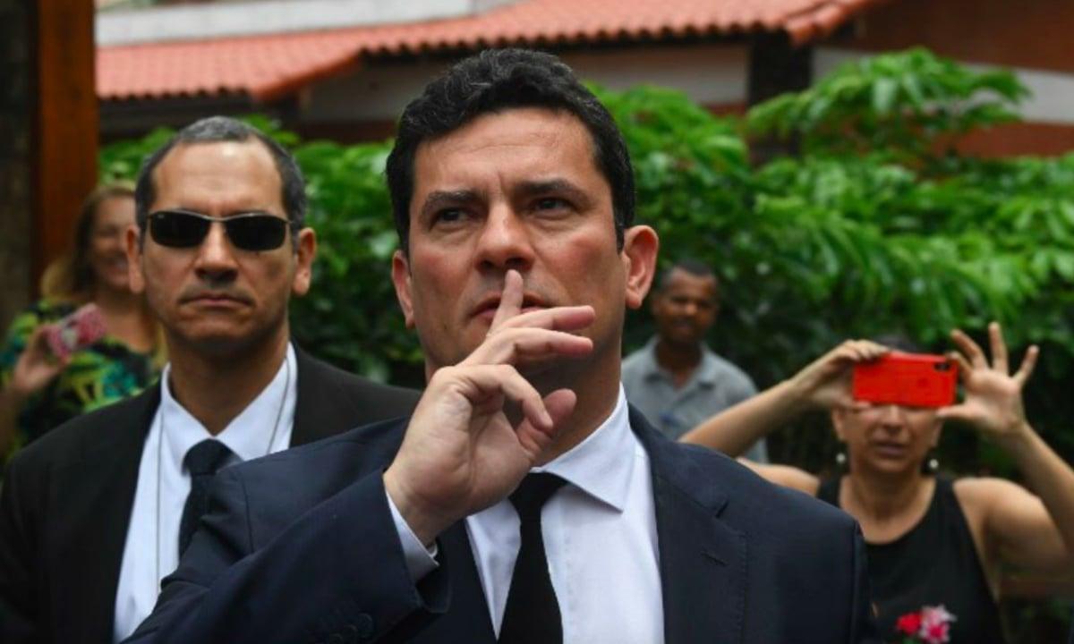 O ministro Sérgio Moro