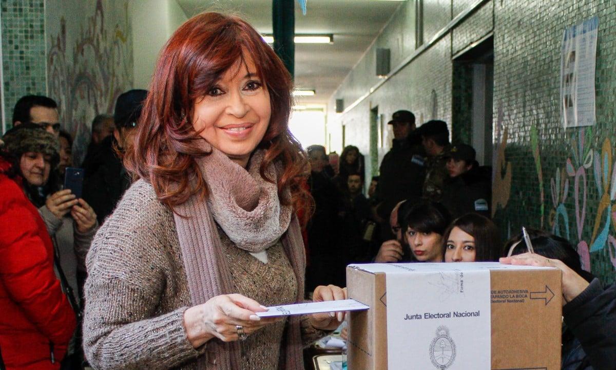 A vice-presidente da Argentina, Cristina Kirchner. (Foto: Foto Walter Diaz / Telam/ AFP)