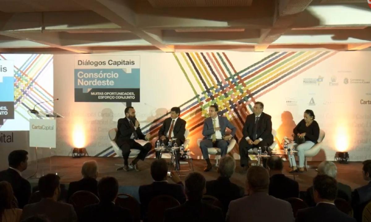 'Diálogos Capitais' discute Consórcio Nordeste. Foto: Reprodução/CartaCapital