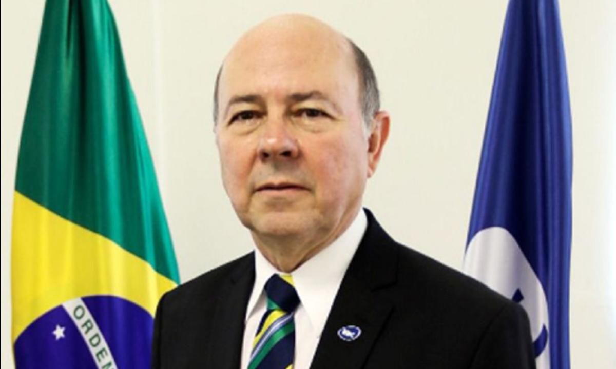 Luiz Carlos Pereira Gomes, novo diretor-presidente da Empresa Brasil de Comunicação (EBC). (Foto: Marcello Casal Jr./Agência Brasil)