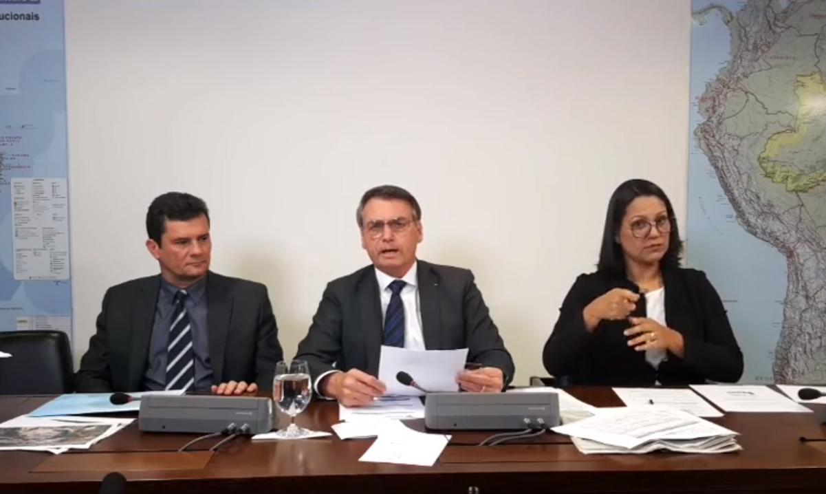 Bolsonaro pede que Senado aprove redução da maioridade penal