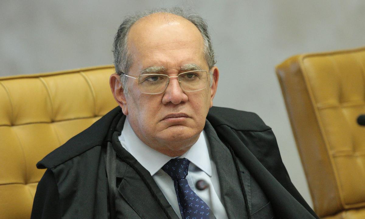 O ministro Gilmar Mendes, em sessão no Supremo Tribunal Federal. Foto: Carlos Moura/SCO/STF