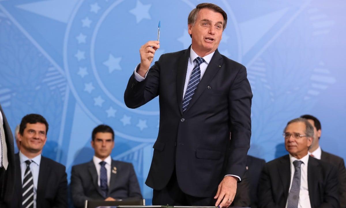 O presidente Jair Bolsonaro. Foto: Marcos Corrêa/ PR