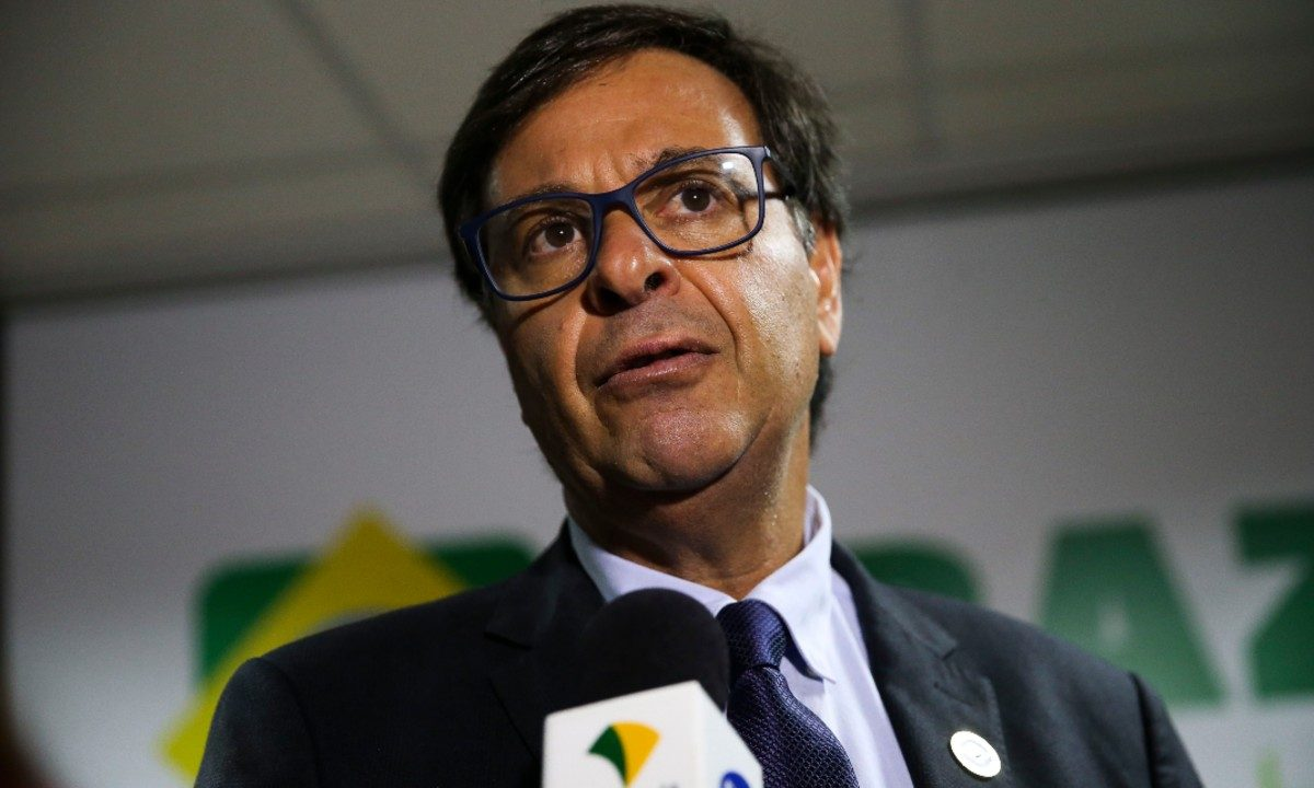 Gilson Machado Neto, presidente da Embratur (Foto: José Cruz / Agência Brasil)