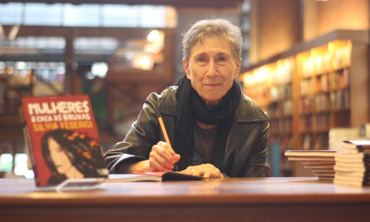 A pensadora italiana Silvia Federici