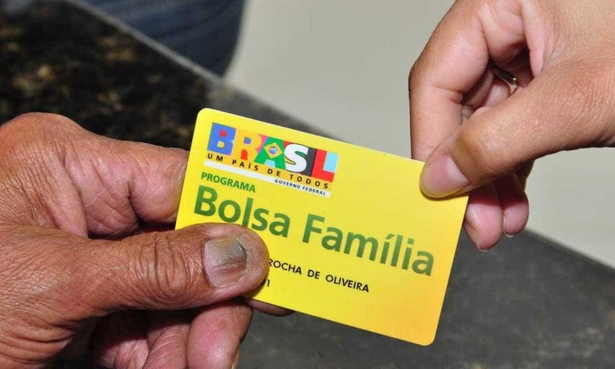 Cartão do benefício do Bolsa-Família. Foto: Governo do Piauí