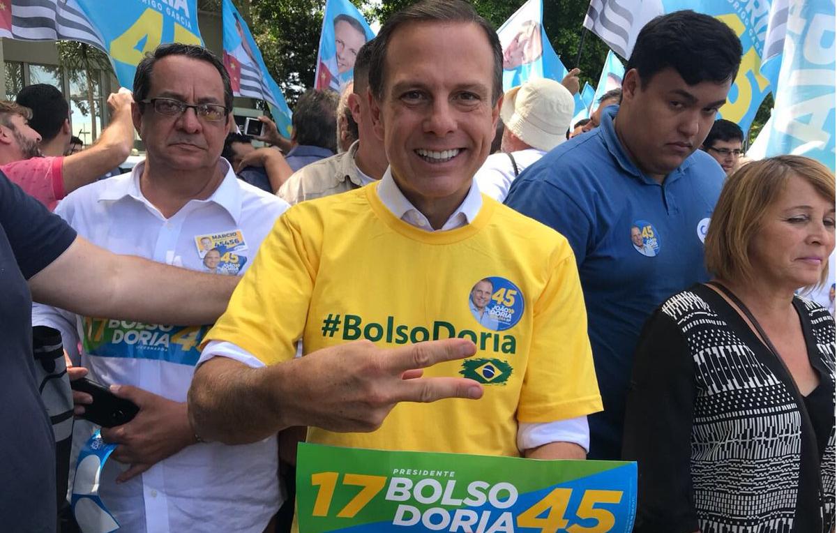 """João Doria: """"Eu não criei o 'BolsoDoria', movimento nasceu espontaneamente"""" - CartaCapital"""