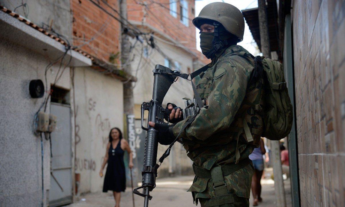 No Rio, 30% dos homicídios são causados por agentes do Estado. Foto: Fernando Frazão/ABR