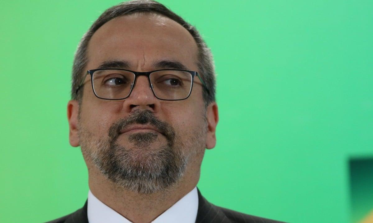 O ministro da Educação, Abraham Weintraub (Foto: Fabio Rodrigues Pozzebom / Agência Brasil)