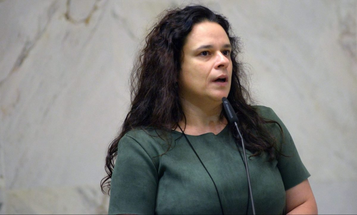 A deputada estadual Janaina Paschoal (PSL-SP)