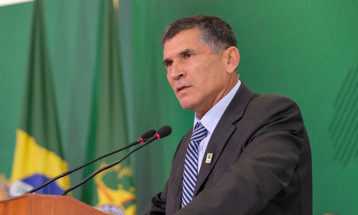 O ex-ministro general Santos Cruz. Foto: Wilson Mendes/ASCOM/SecGov/PR