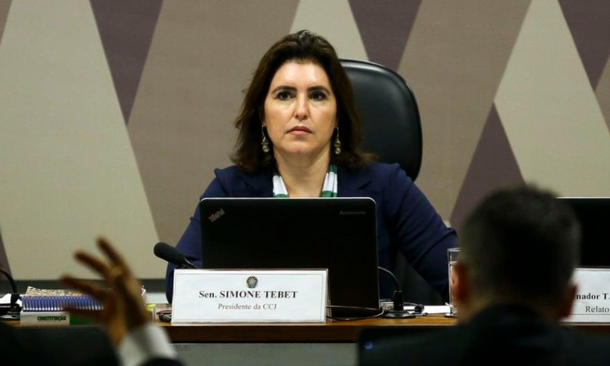 Senadora Simone Tebet (MSB-MS). (FOTO: Marcelo Camargo/Agência Brasil)