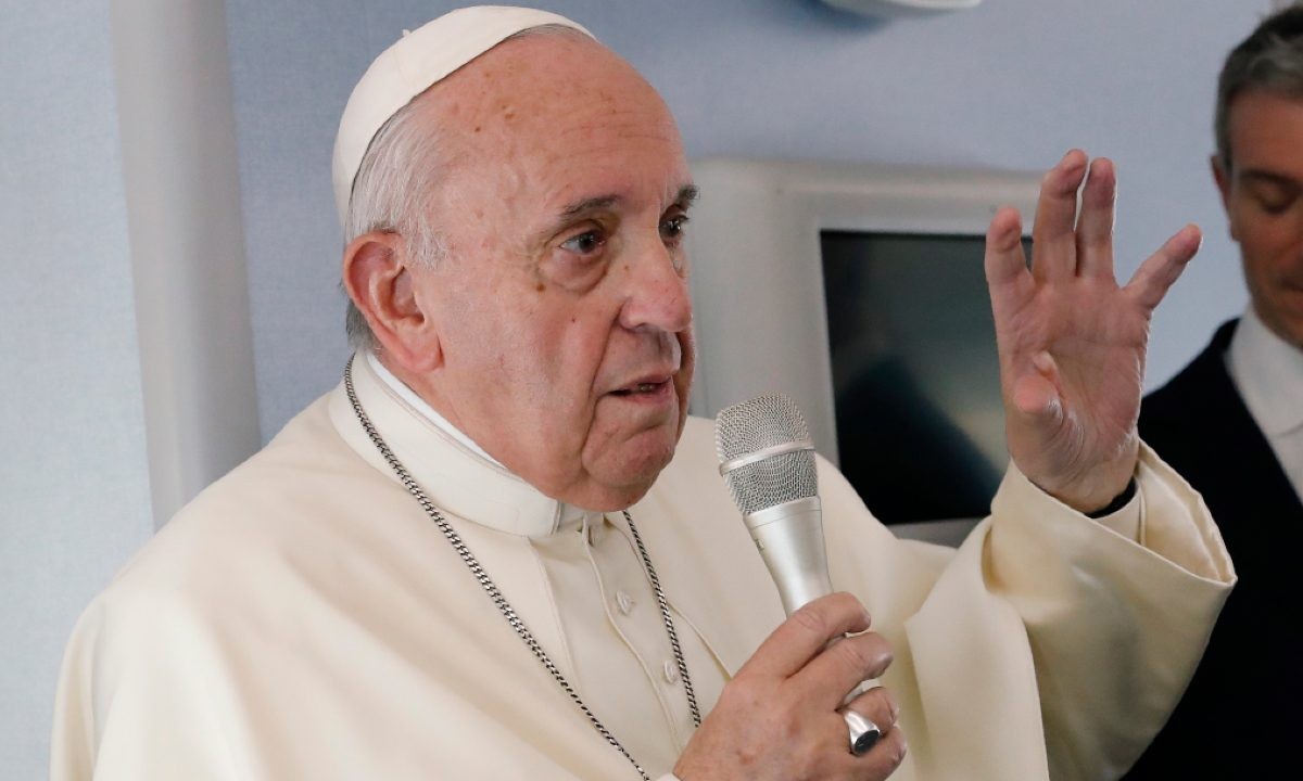 Papa Francisco. Foto: REMO CASILLI / POOL / AFP