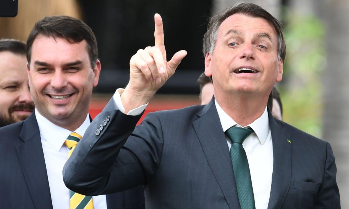 O presidente Jair Bolsonaro (Foto: Evaristo Sá/AFP)