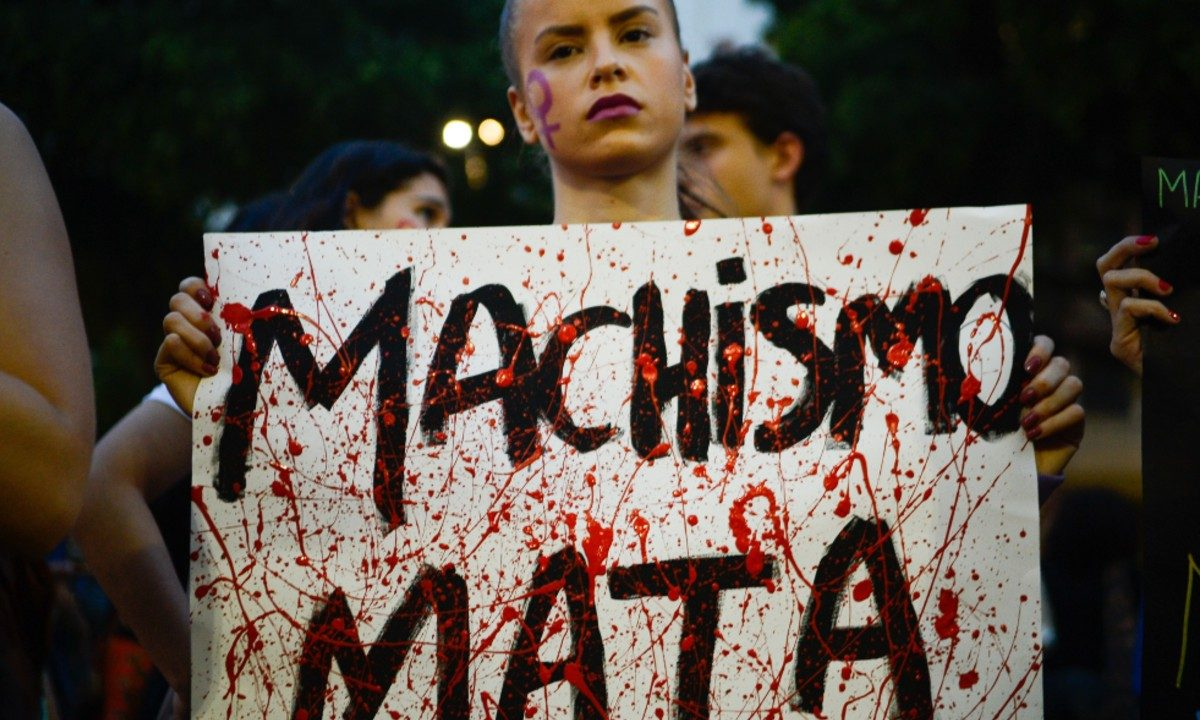 Ato de mulheres pede o fim da cultura do estupro (Foto: Tomaz Silva / Agência Brasil)