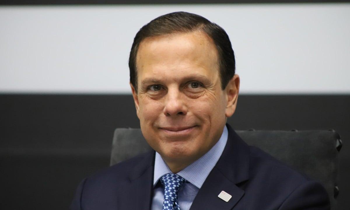 O governador do estado de São Paulo, João Dória. Foto: Charles Sholl/Brazil Photo Press