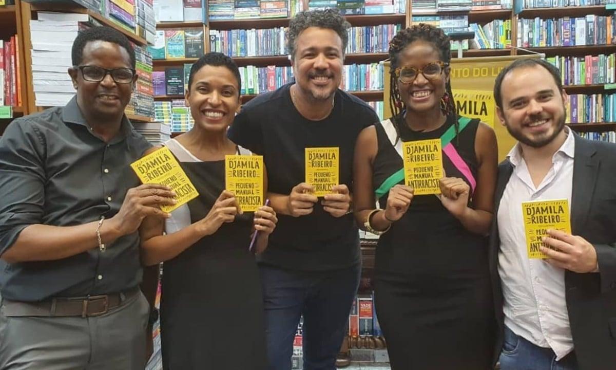 Djamila Ribeiro lança novo livro,