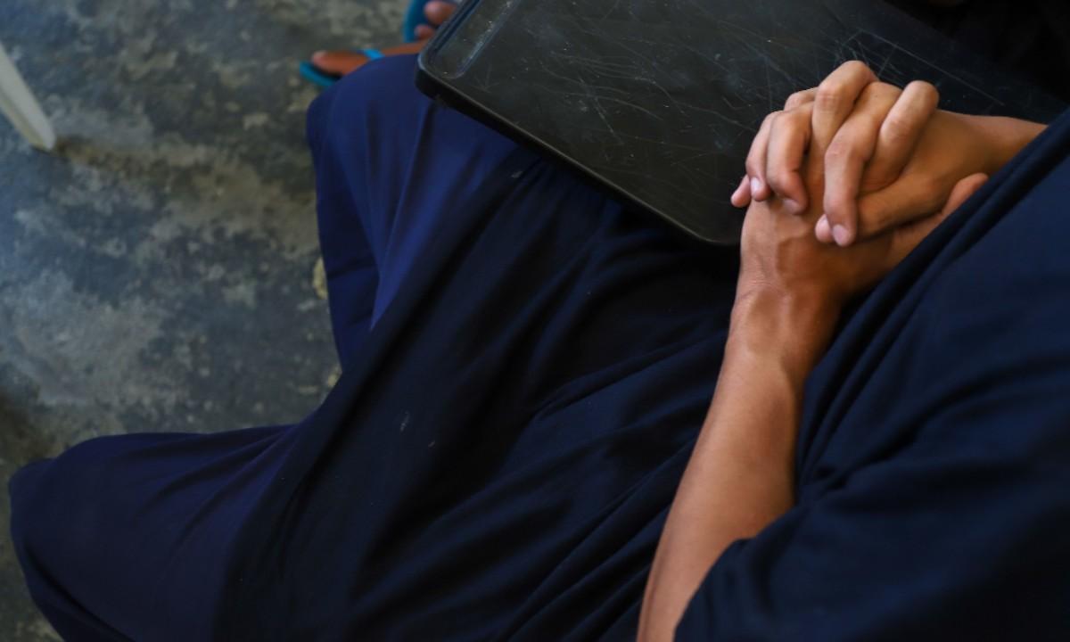 Jovem interno da Fundação Casa (Foto: Governo do Estado de São Paulo)