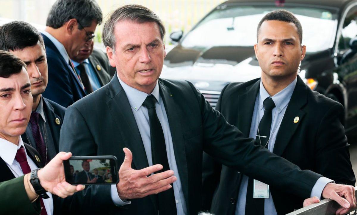 O presidente Jair Bolsonaro afirmou que