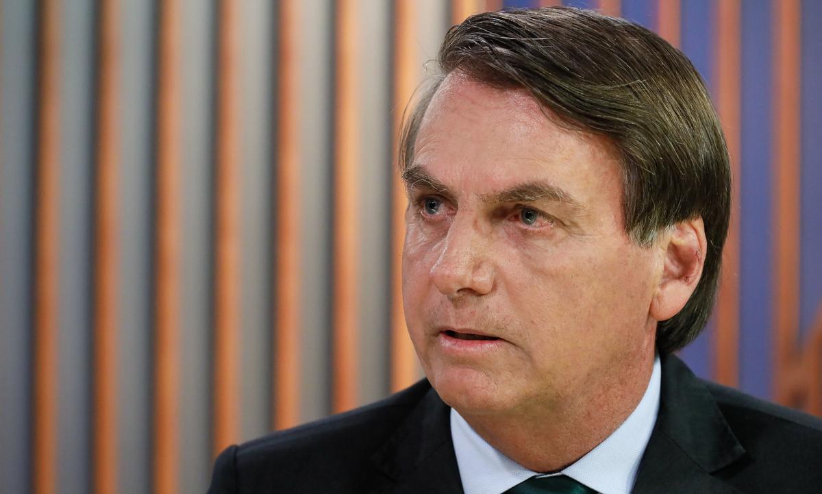 O presidente Jair Bolsonaro (Foto: Isac Nóbrega/PR)
