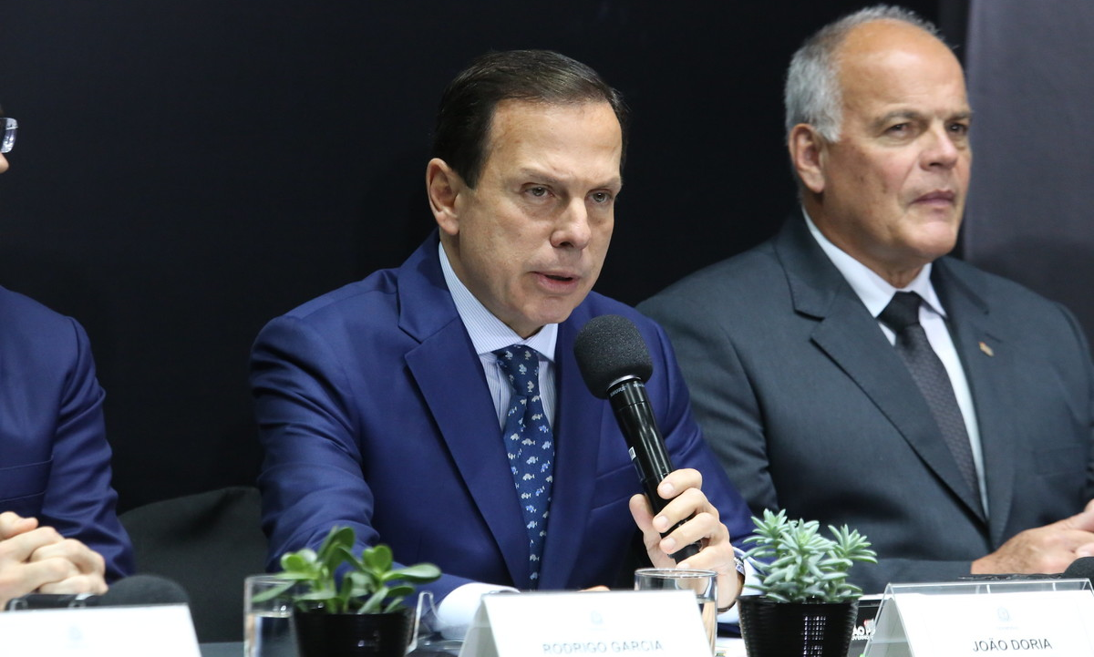 João Doria não gostou de atuação de Fernando Guimarães no partido. Foto: Governo do Estado de São Paulo